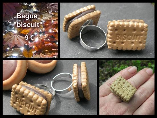 bague biscuit