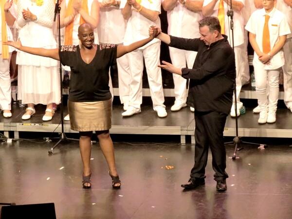 Dominique Magloire au  concert des Sans Voix 2015 : un concert magnifique !