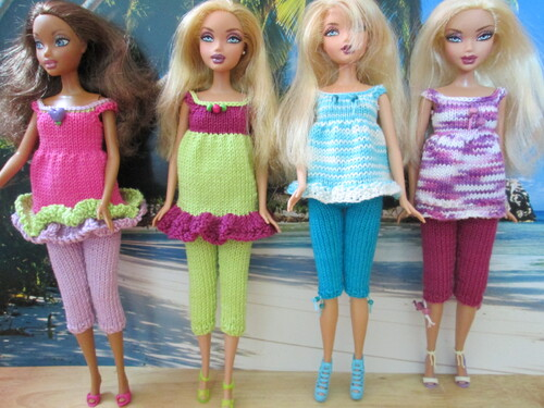 Barbie au bord de la mer