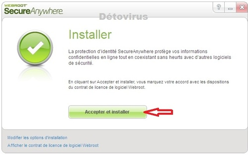 Webroot SecureAnywhere Antivirus 2014 - Licence 2 ans gratuits