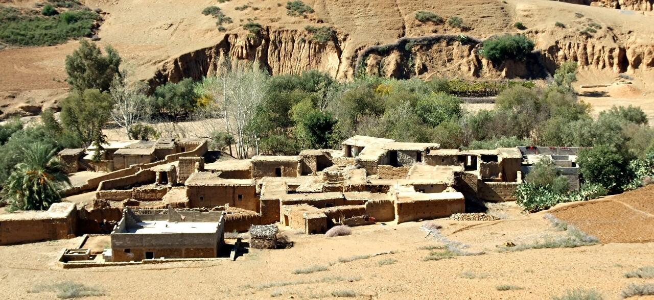 Maroc 6 / villages dans le haut atlas