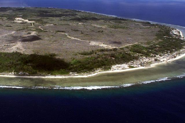Nauru est une petite île reculée du Pacifique.