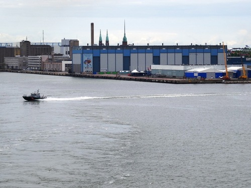 Le port d'Helsinki, pour un retour à Tallinn (photos)