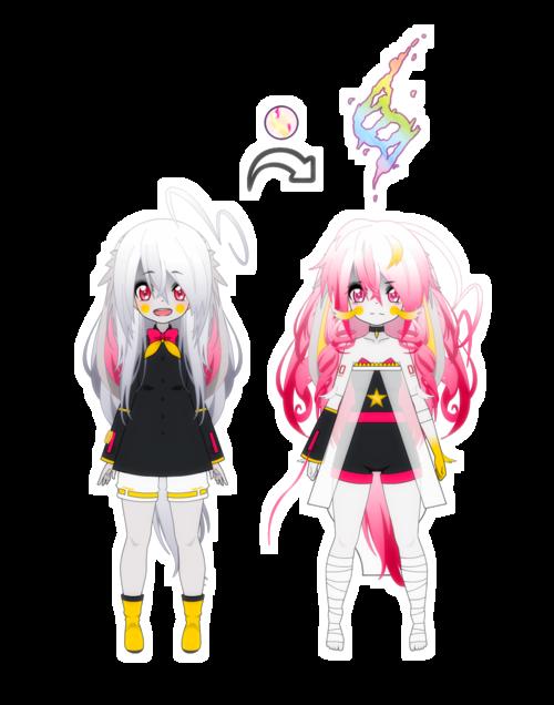 [Kisekae - Crystal] Mega-Evolution