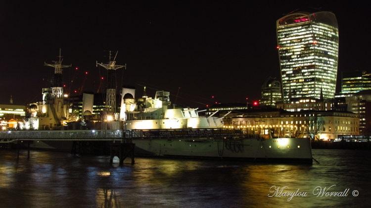 Londres : Le HMS Belfast