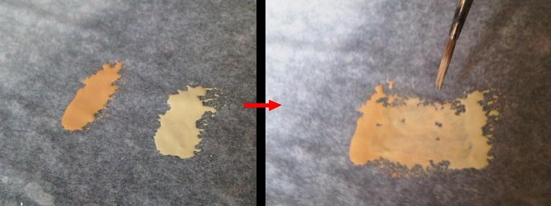 peinture: la palette humide