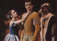 Avec Laëtitia Pujol dans le Ier Acte de Giselle