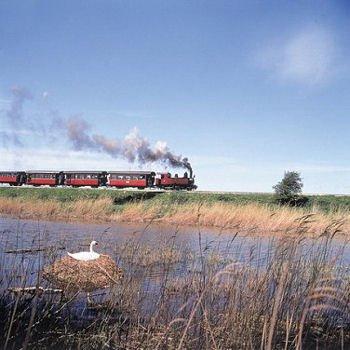 locomotive 130t corpet louvet entre saint-valery et noyelles-sur-mer.