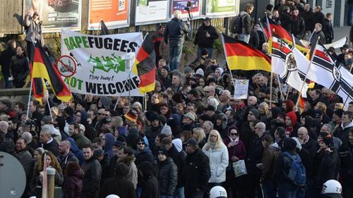La crise des migrants et l'effondrement de l'Europe