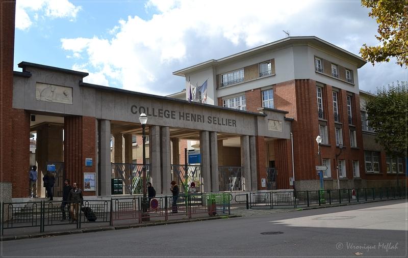 Suresnes : Collège Henri Sellier et Théâtre Suresnes - Jean Vilar