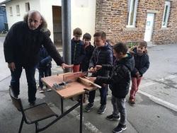 Fabrication d'un jeu en bois