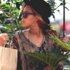 Beyonce dans la ville de New York