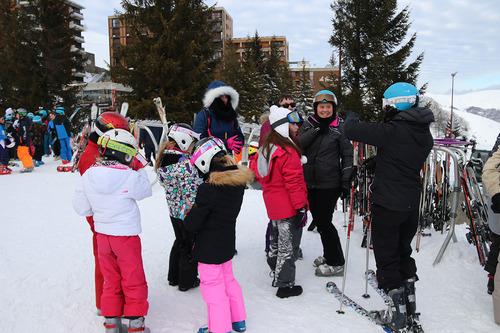 classe de neige jeudi 24 janvier