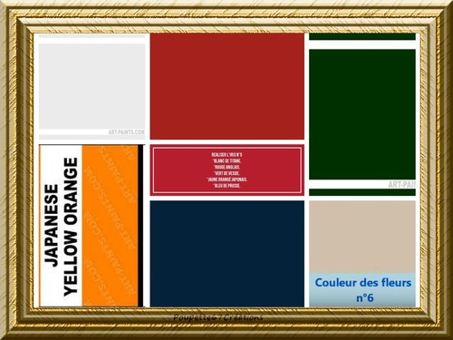 """Dessin et peinture - vidéo 3350 - Comment reproduire la palette de couleurs de Vincent van Gogh pour """"les iris"""" (1890) ? - huile ou acrylique."""