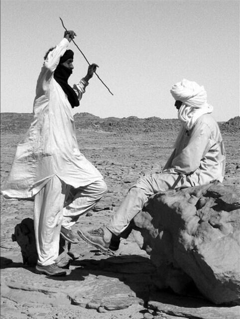 Bédouin faisant quelques pas de danse