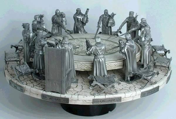 Les chevaliers de la table ronde lunantique - Chanson les chevaliers de la table ronde ...