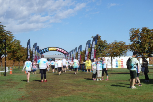 Colour#run#christchurch#5km#