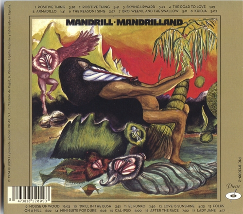 "1974 : Album "" Mandrilland "" Polydor ‎Records PD-2-9002 [ US ]"