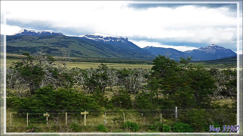 Montagne tabulaire du Cerro Campana - Route Puerto Natales / Cerro Castillo - Patagonie - Chili