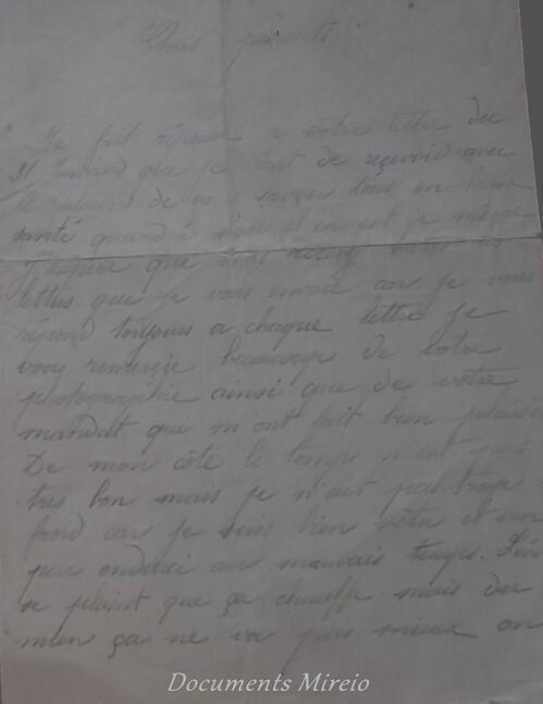 Lettres du Front...