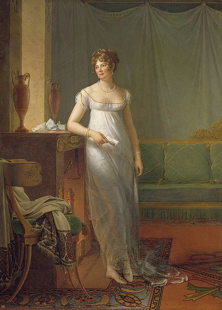 Madame Charles-Maurice de Talleyrand-Périgord, later Princesse de Bénévent (née Noël-Catherine Verlée, 1761–1835), ca. 1808  François Gérard, called Baron Gérard (French, 1770–1837)  Oil on canvas