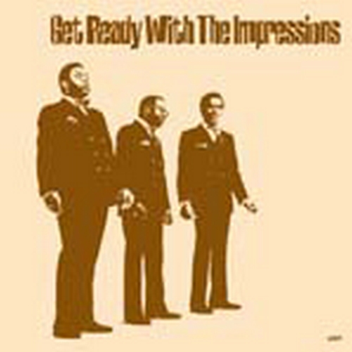 """2008 : Album CD """" Get Ready With The Impressions """""""