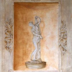 Statue dans sa niche