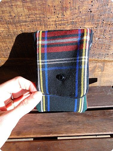 Housse iPhone tartan