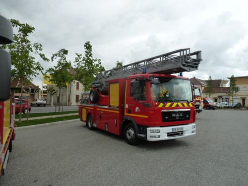 Les pompiers !