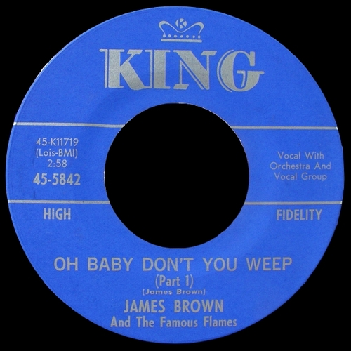 1964 James Brown & The Famous Flames King Records 45-5842 [ US ]