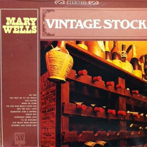 "Mary Wells : Album "" Vintage Stock : The Best Of Mary Wells "" Motown Records MS 653 [ US ]"