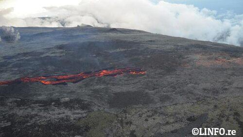 Le volcan : Des photos à couper le souffle