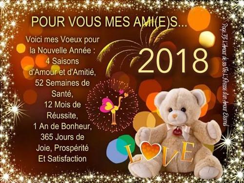 L'ANNEE 2018 A PRIS SON ENVOL!