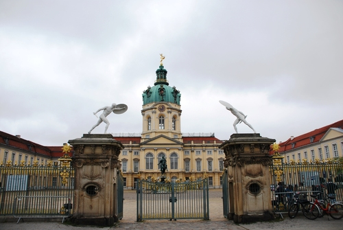 Berlin : le çâteau de Zarlottenburg et son parc (photos)