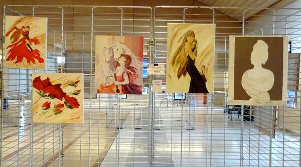 Le salon des peintres 2015 des Amis du Châtillonnais a eu un très grand succès !