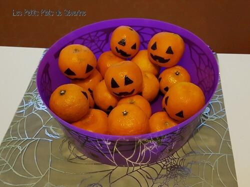 Clémentines d'halloween