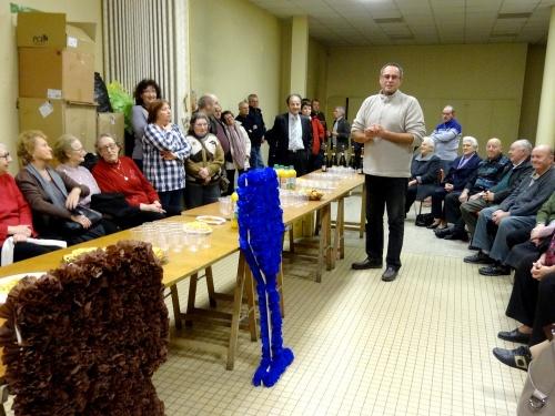 Un hommage a été rendu aux bénévoles qui travaillent assidûment pour que la Saint Vincent Tournante soit un grand succès !