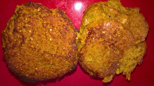 Des galettes hyperprotéinées