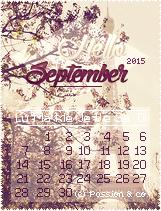 ► Calendriers de septembre 2015