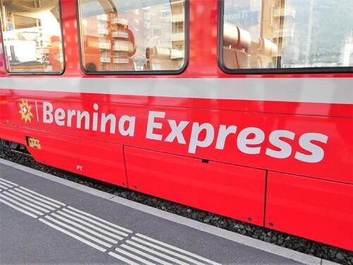 30/01/2018 Bernina Express Saint Moritz GR Suisse # 4 Retour
