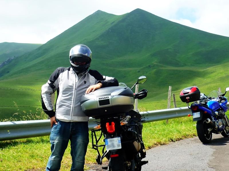 L'Auvergne à moto , au coeur du Massif du Sancy