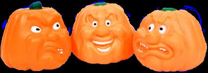 Tubes halloween citrouilles