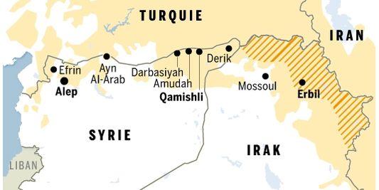 """Résultat de recherche d'images pour """"kurdistan erbil carte"""""""
