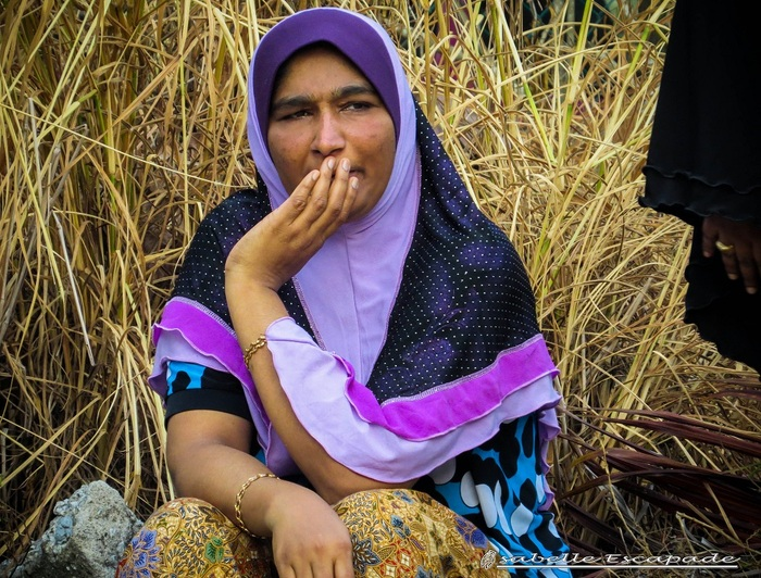 9 Juillet - Pangkor - Quand Mamma Sita Luisa prend soin de moi...