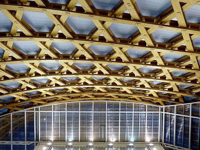 La charpente du Centre Pompidou-Metz 1 Marc de Metz 2011