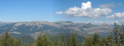 Le massif des Monges