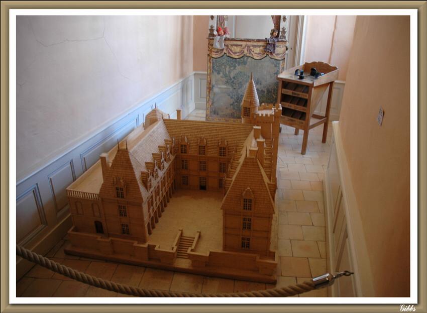 Intérieur du Château de Villandry ( serie 2)
