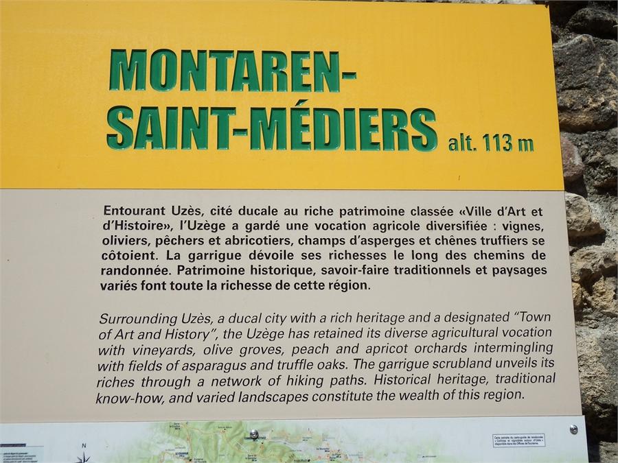 Montaren dans le Gard