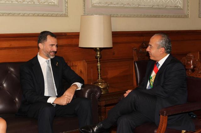 Felipe et le président