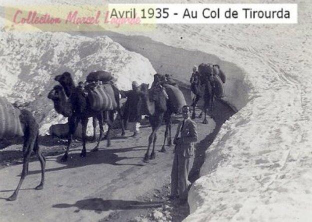 Col de Tirurda en 1935